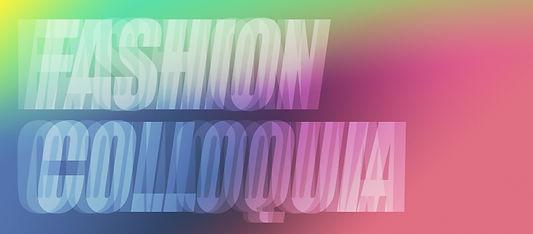 Fashion Colloquia 2012