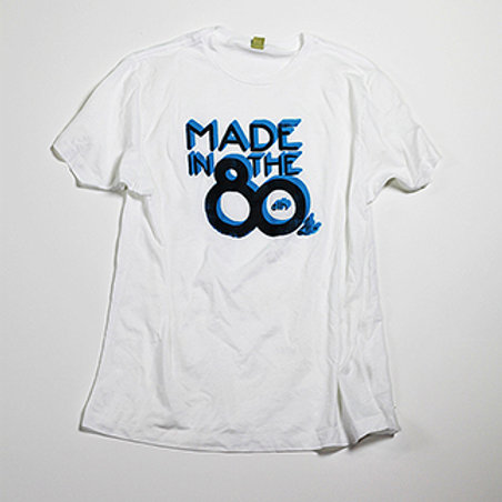 "Womens ""Made in the '80s"" (White)"