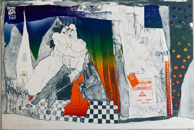 Children of Paradise, CTP litho Tamarind, 16 x 23 inches