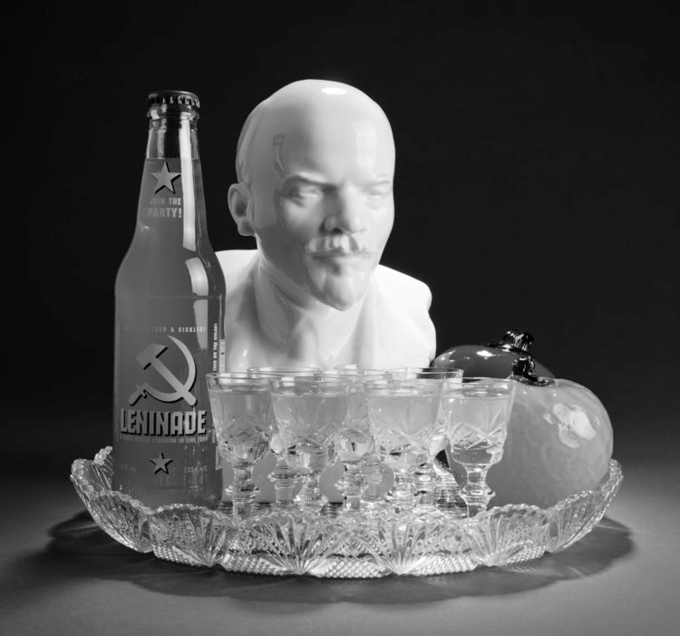 STILL LIFE WITH LENIN AND LENINADE, digital print on Hahnemuhle photo pearl, 15 x 10 inches