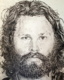 Jim Morrison Mugshot