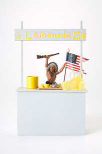 Custer's Last Lemonade Stand (Under New Management), digital print on Hahnemuhle photo pearl, 30 x 20 inches