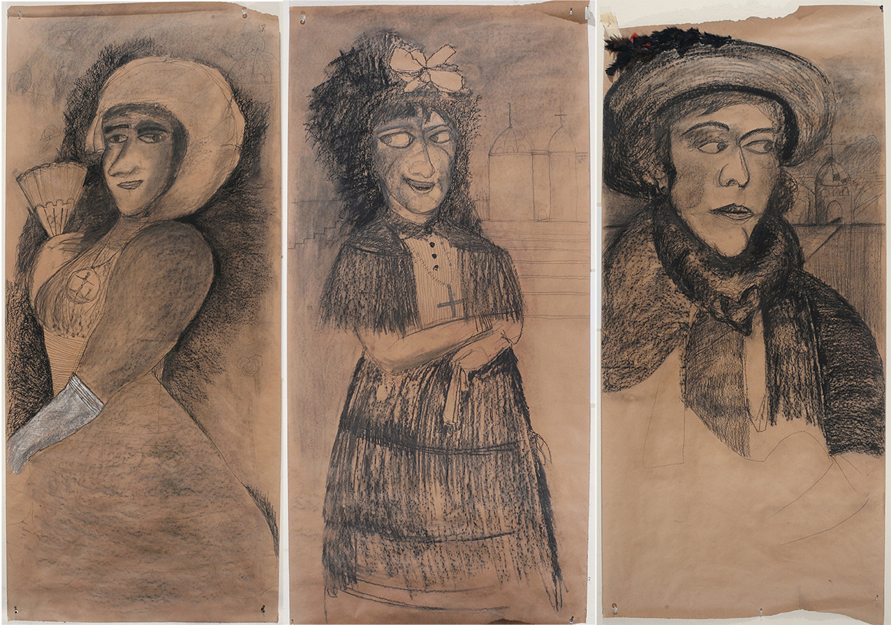 Tres Marquesas (after Goya)