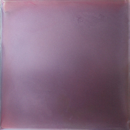 Violet Meditation (I Look for Light), urethane, pigment and varnish on acrylic, 15 x 15 inches