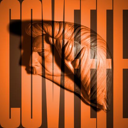 STHE SURREAL ORANGE SPEAKS (COVFEFE), 10 x 10 inches