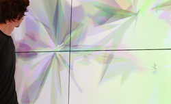 untitled digital installation