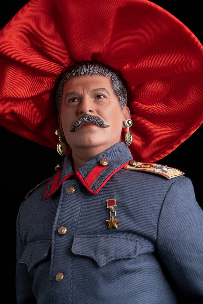 STALIN IS THE FAIREST DICTATOR OF THEM ALL (AT THE KENTUCKY DERBY), color digital print, 64 x 44 inchescolor print