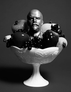 STILL LIFE WITH LENIN AND A BOWL OF FRUIT, digital print on Hahnemuhle photo pearlDigital Print on Hahnemuhle Photo Pearl, 39 x 30 inches