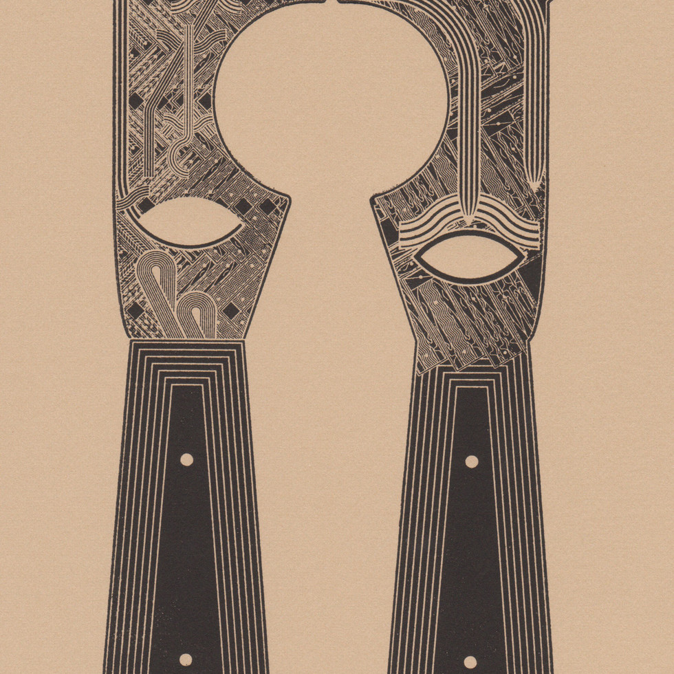 Five in One Tool, print on paper, 10 x 8 inches