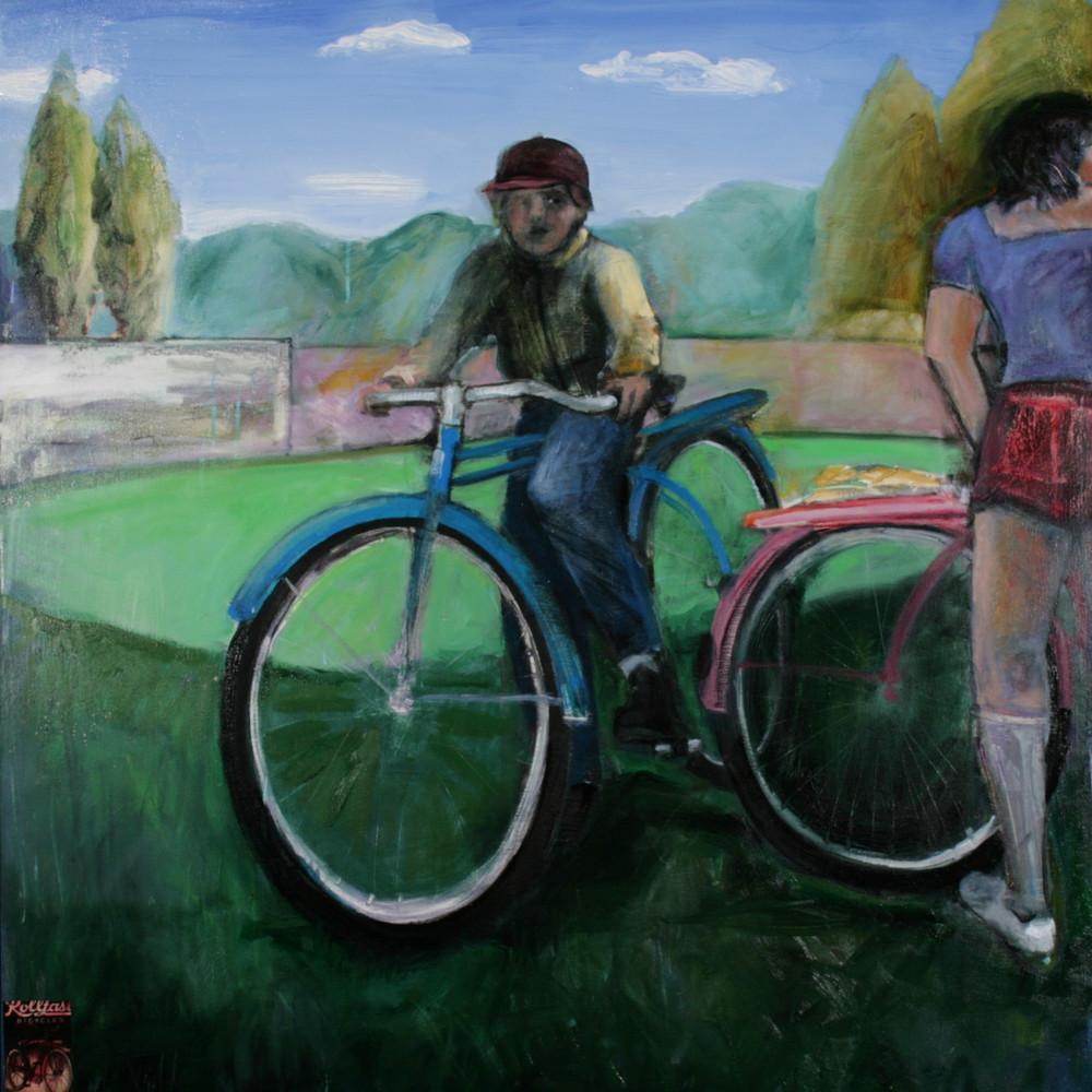 The Secret Dream, oil on canvas, 64 x 60 inches