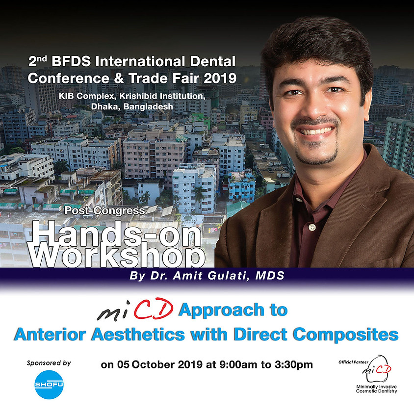 A MiCD approach to Anterior Aesthetics – Hands-on Workshop