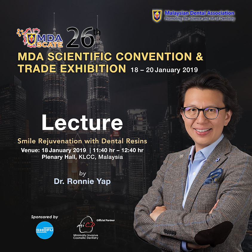 Dr. Ronnie at MDA-Scate 2019 –Lecture