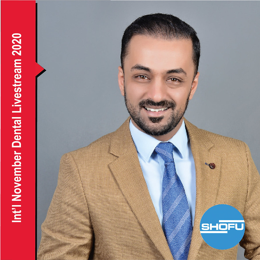CAPP Dental Live Stream 2020 – Work like a Painter by Dr. Hussein, Iraq
