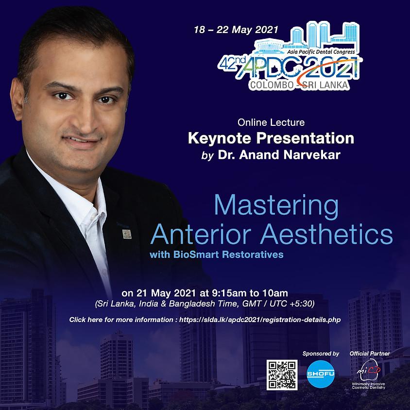 42nd APDC 2021, Asia-Pacific Dental Congress, Colombo, Sri Lanka