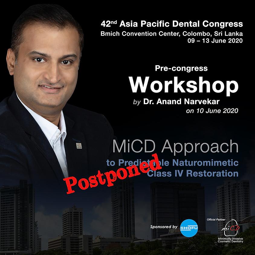 APDC Pre-congress Workshop @ Colombo