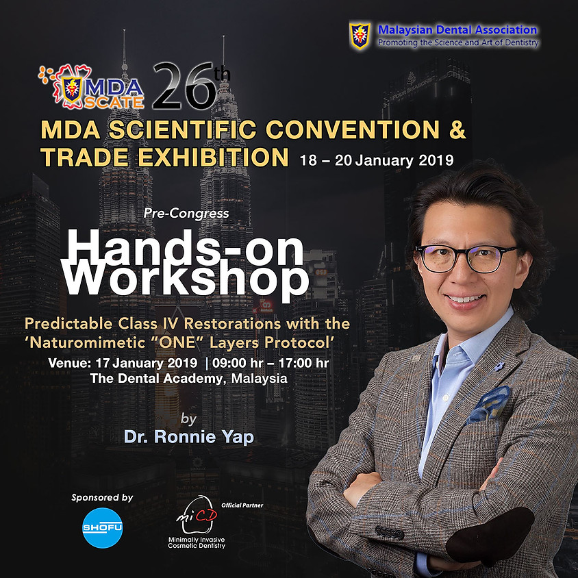 Dr. Ronnie at MDA-Scate 2019 – Pre-congress Workshop
