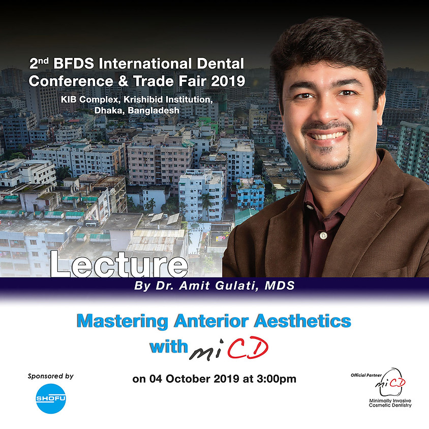 Mastering Anterior Aesthetics with MiCD – Lecture
