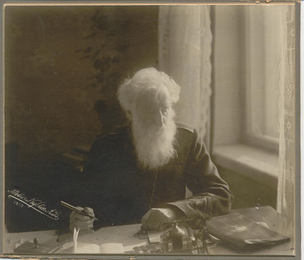 Booth, William - Sitting and Writing At