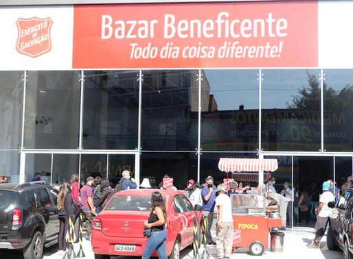 EXÉRCITO DE SALVAÇÃO REINAUGURA BAZAR BENEFICENTE EM SANTO ANDRÉ.