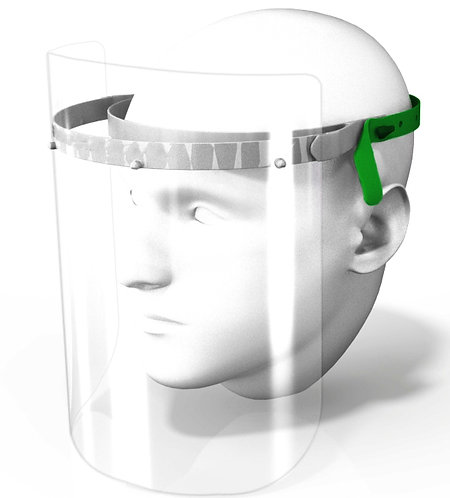 Covid 19 - Face Shield (3Visors)