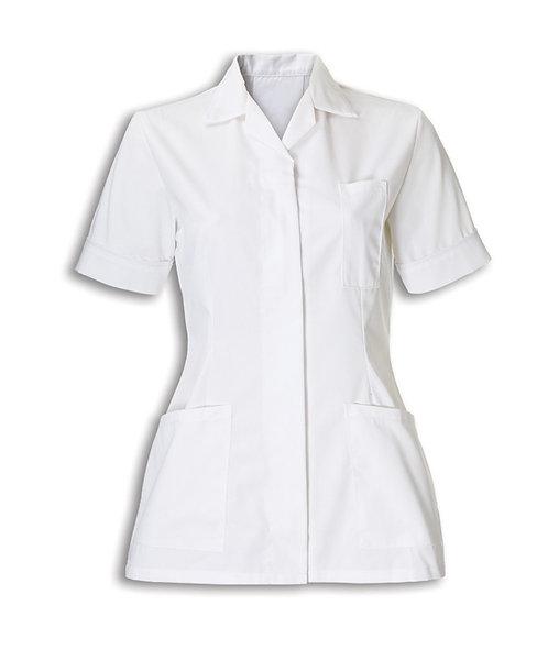 Ladies White Tunic Jacket