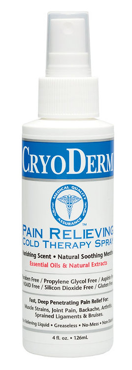 CryoDerm Cold Relief Spray 4oz