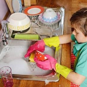 Para que los niños ayuden en casa