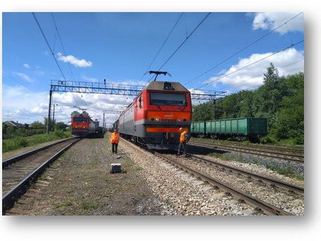 ВНИИЖТ испытал технологию интервального регулирования вождения поездов на базе системы DMR