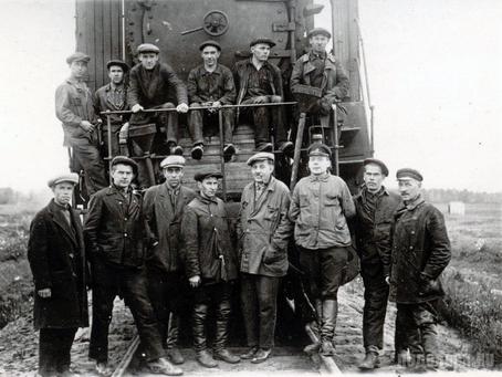 История одного снимка – октябрь 1933 года, Экспериментальное кольцо ВНИИЖТ