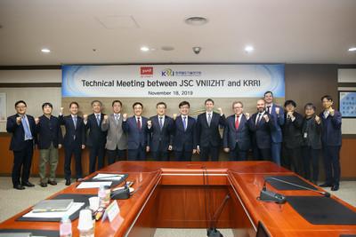 Сергей Виноградов посетил Корейский железнодорожный исследовательский институт