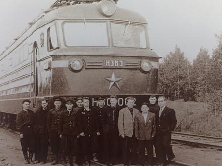 История одного снимка – опытный электровоз Н60