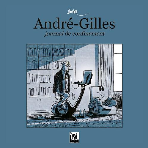 Livre - André-Gilles, journal de confinement