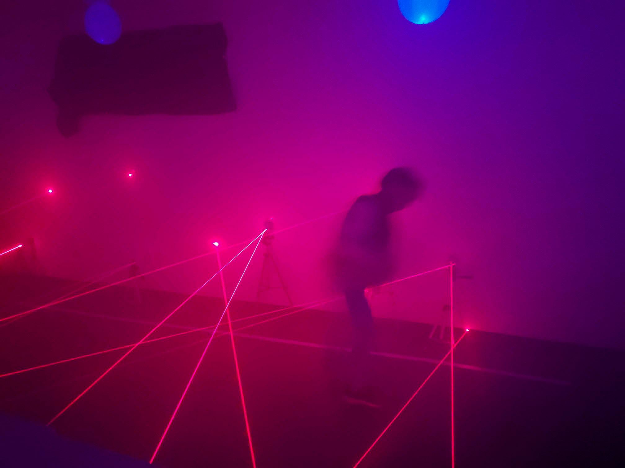 laser obstacles