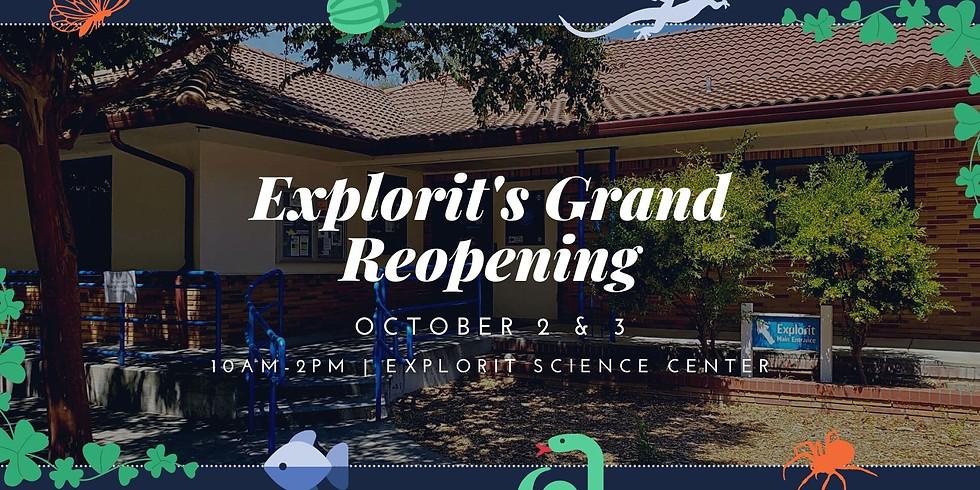 Explorit Public Hours: Friday Reservation