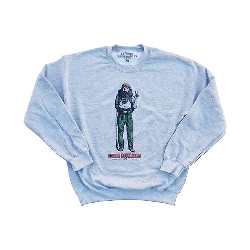 Hippie Man Sweatshirt