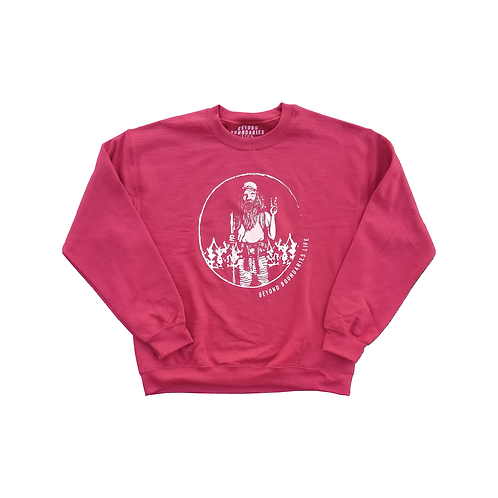 Hippie Man Circle Sweatshirt