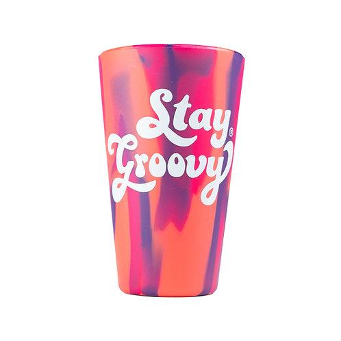 Stay Groovy SiliPint