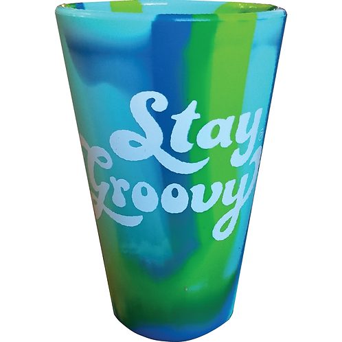 Stay Groovy SiliPint