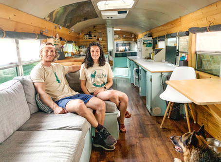 Living their BusLife: David and Lauren Robinson