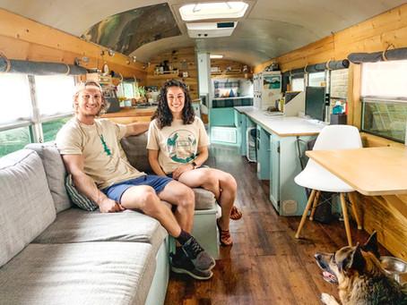 Living their BusLife: David and Lauren Robinson