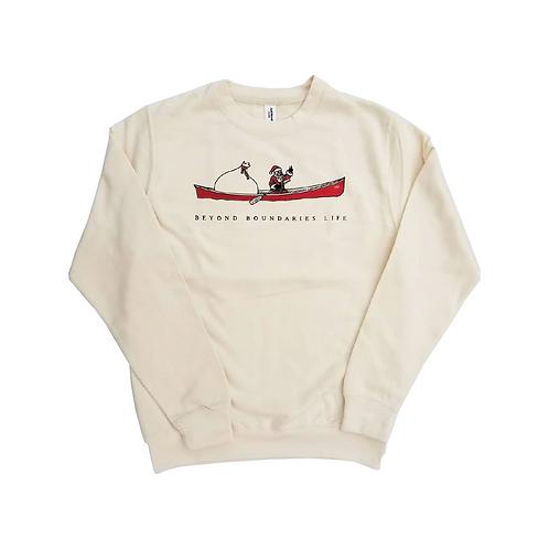 Christmas Canoe Sweatshirt
