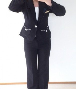 受付の新しい制服!