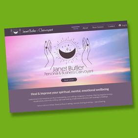 www.janet-butler.com  - Wix website design