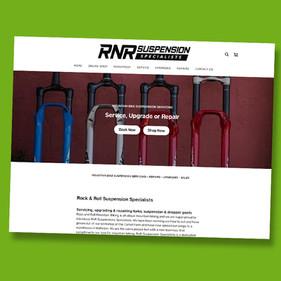 RnR suspension  - Wix website design