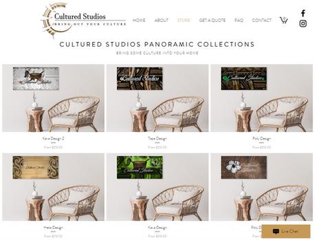 Cultured Studios website design.png