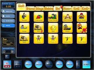 Robot Slotsoft  (arena.slotsoft.net)