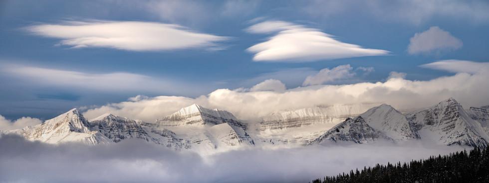 Lake Louise Mountainscape