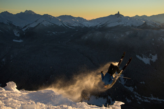 Sunset in Whistlers Alpine