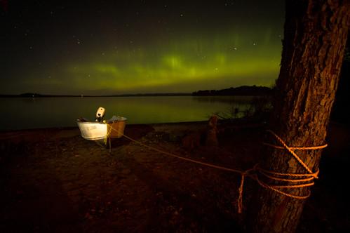 Northern Lights at Wawa