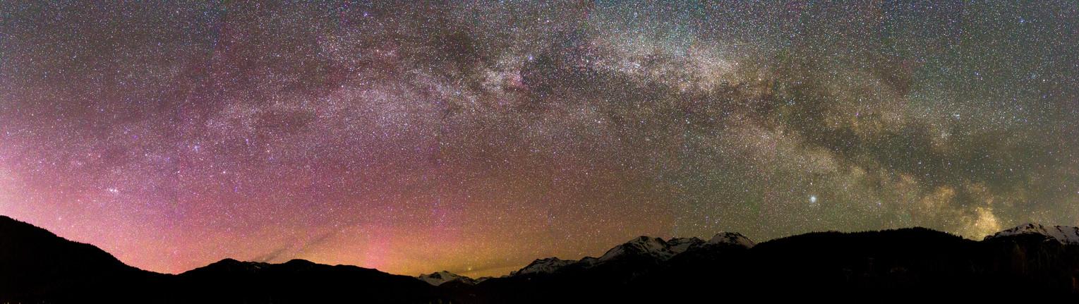 Milkyway over Whistler